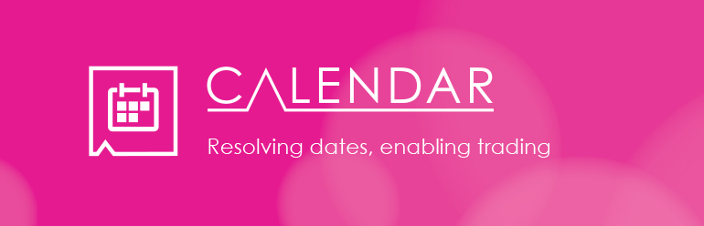 Calendar - Trading dates for middle and back office