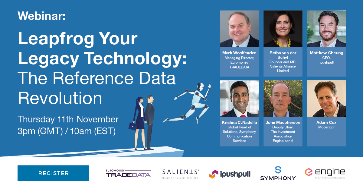 Leapfrog your legacy technology: The reference data revolution