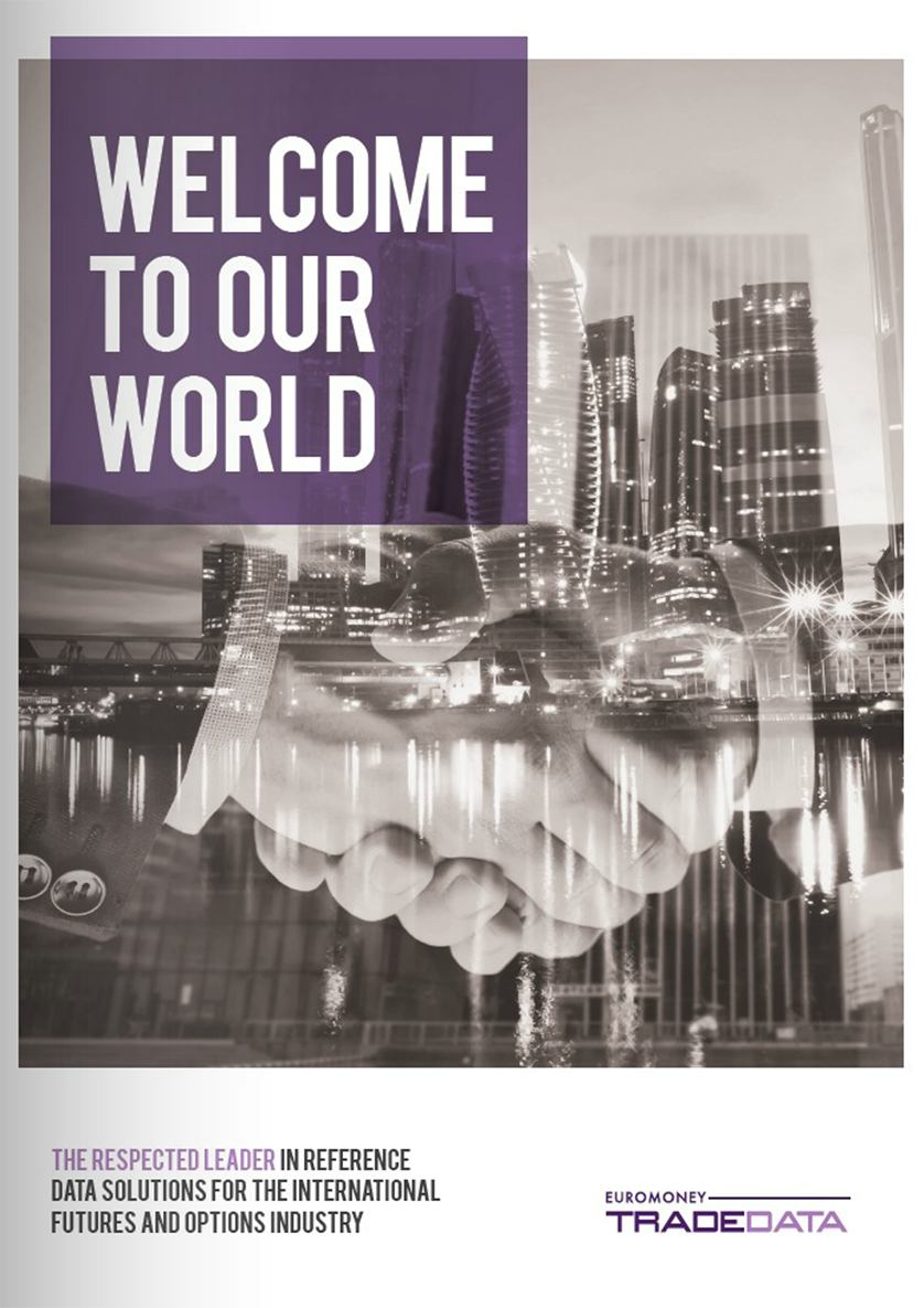 Welcome to our world brochure cover